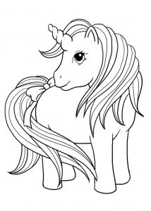 Unicorn Coloring Sheets Free