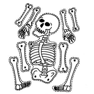 Halloween Printable Skeleton Coloring Pages